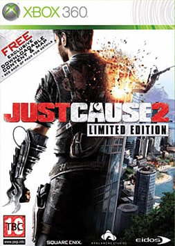 Just Cause 2 Limited Edition Xbox 360 Cover Art