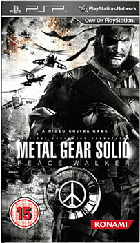 Metal Gear Solid: Peace Walker PSP Cover Art