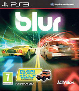BLUR PlayStation 3 Cover Art