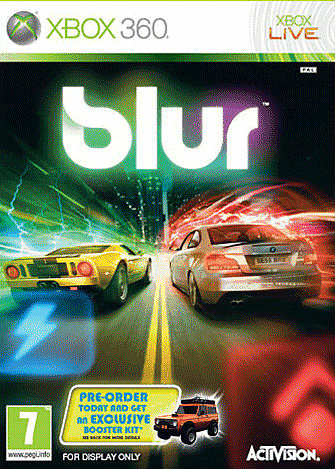Blur on Xbox 360, PlayStation 3 and PC at GAME