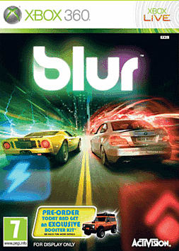 BLUR Xbox 360 Cover Art