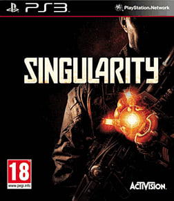 Singularity PlayStation 3 Cover Art