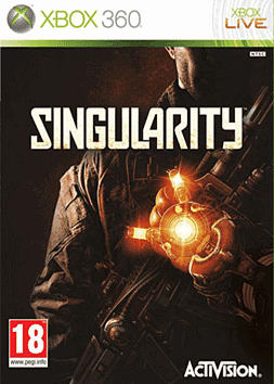 Singularity Xbox 360 Cover Art