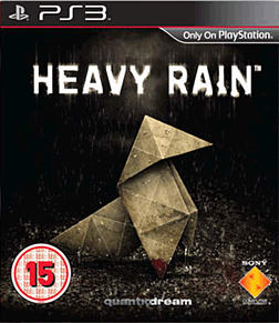 Heavy Rain PlayStation 3 Cover Art