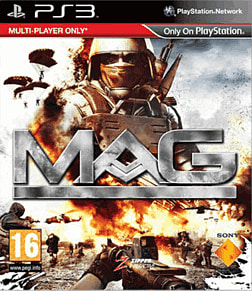 MAG (Massive Action Game) PlayStation 3 Cover Art