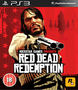 Red Dead Redemption PlayStation 3 Cover Art