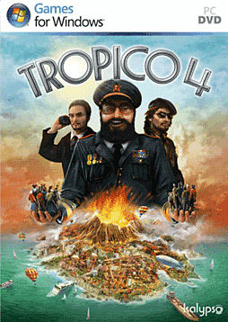 Tropico 4 PC Games and Downloads Cover Art