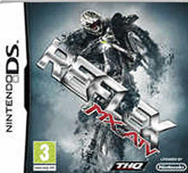 Mx vs ATV Reflex DSi and DS Lite Cover Art