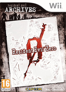 Resident Evil Archives: Zero Wii Cover Art