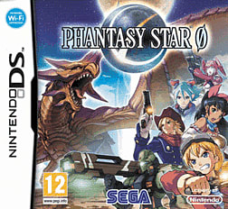 Phantasy Star Zero DSi and DS Lite Cover Art