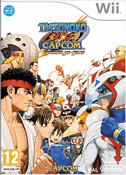 Tatsunoko vs Capcom Ultimate All Stars Wii Cover Art
