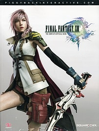 Final Fantasy XIII Strategy Guide Strategy Guides and Books
