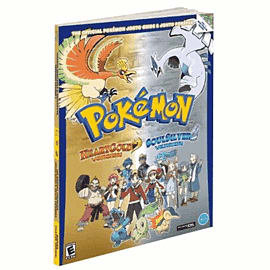 Pokemon Heart Gold and Soul Silver Strategy Guide Strategy Guides and Books