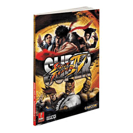 Super Street Fighter IV Strategy Guide Strategy Guides and Books