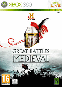 HISTORY Great Battles Medieval Xbox 360 Cover Art