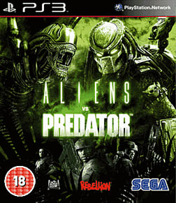 Aliens vs Predator PlayStation 3 Cover Art