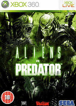 Aliens vs Predator Xbox 360 Cover Art