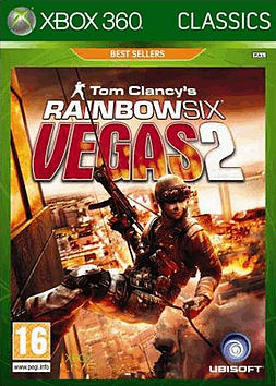 Tom Clancys Rainbow Six Vegas 2 Classics Xbox 360 Cover Art