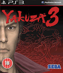 Yakuza 3 PlayStation 3 Cover Art