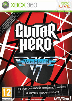 Guitar Hero: Van Halen (Software Only) Xbox 360 Cover Art