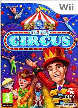 It's My Circus Wii Cover Art