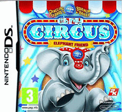 It's My Circus: Elephant Friends DSi and DS Lite Cover Art
