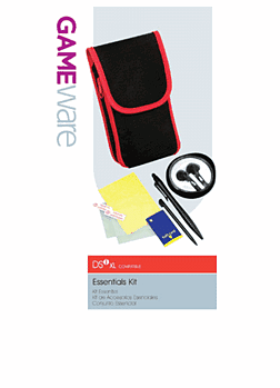 GameWare Essentials Kit for DSi XL Accessories