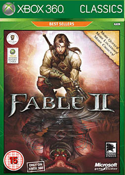 Fable 2 GOTY Classic Xbox 360 Cover Art