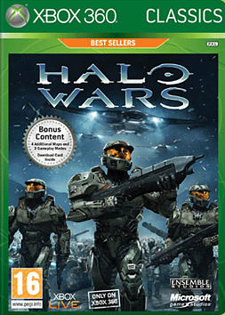 Halo Wars Classic Xbox 360 Cover Art