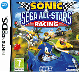 Sonic & SEGA All-Stars Racing DSi and DS Lite Cover Art