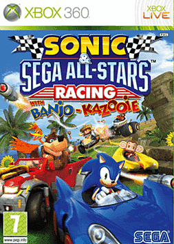 Sonic & SEGA All-Stars Racing Xbox 360 Cover Art