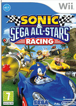 Sonic & SEGA All-Stars Racing Wii Cover Art