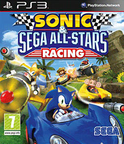 Sonic & SEGA All-Stars Racing PlayStation 3 Cover Art