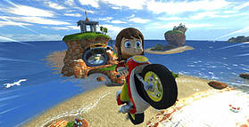 Sonic & Sega All-Stars Racing screen shot 3