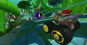 Sonic & SEGA All-Stars Racing screen shot 4