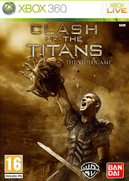 Clash of the Titans Xbox 360 Cover Art
