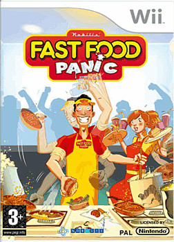 Fast Food Panic Wii Cover Art