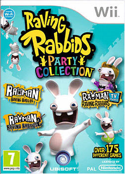 Rabbids Triple Pack Wii Cover Art