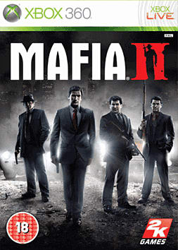 Mafia II Xbox 360 Cover Art