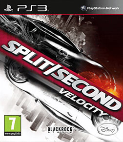 Split/Second: Velocity PlayStation 3 Cover Art
