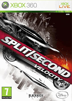 Split/Second: Velocity Xbox 360 Cover Art