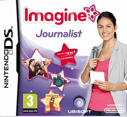 Imagine: Journalist DSi and DS Lite Cover Art