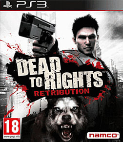 Dead to Rights: Retribution PlayStation 3 Cover Art