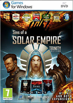 Sins of a Solar Empire: Trinity Edition PC Games and Downloads Cover Art