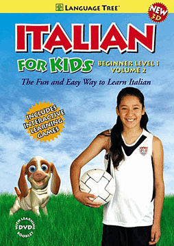 Italian - For Kids - Beginner Level 1, Volume 1 (DVD) Computing