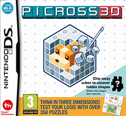 Picross 3D DSi and DS Lite Cover Art