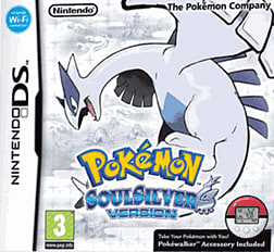 Pokemon Soul Silver DSi and DS Lite Cover Art