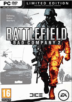 Battlefield: Bad Company 2 Limited Edition PC Games and Downloads Cover Art