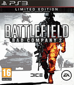 Battlefield: Bad Company 2 Limited Edition PlayStation 3 Cover Art