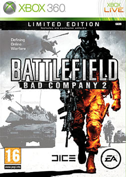 Battlefield: Bad Company 2 Limited Edition Xbox 360 Cover Art